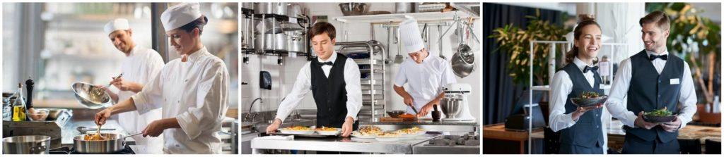Химчистка и стирка для работников ресторанов и кафе